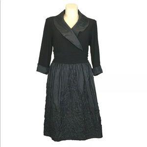 Jessica Howard 18W Woman Dress Black Party Classy